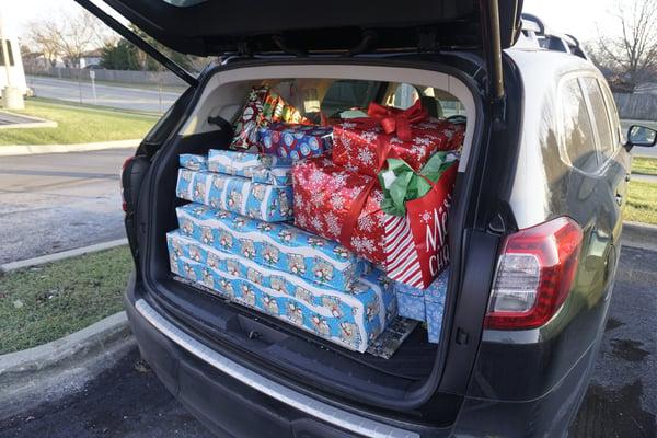 Christmas Gift Drive Inside Post